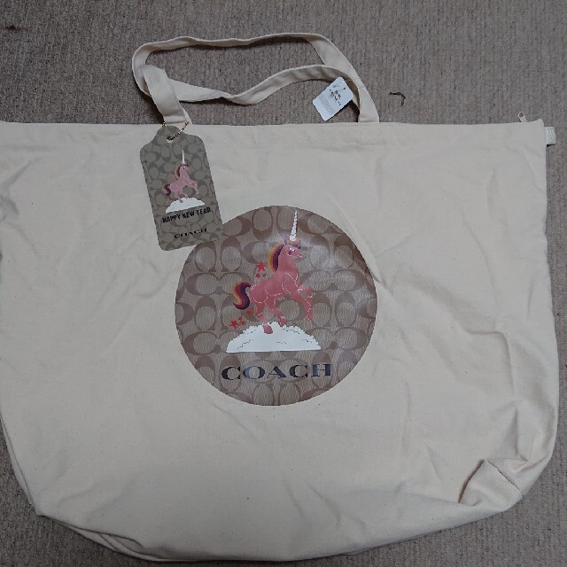 COACH(コーチ)のCOACH 福袋 2021 トートバッグ  ユニコーン 非売品 レディースのバッグ(トートバッグ)の商品写真