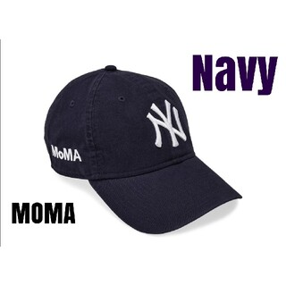 MOMA - 【最安新品】 MOMA x Yankees New Era Capネイビー