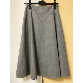 UNTITLED - 美品♡UNTITLEDチェック柄フレアスカート♡XXSサイズ