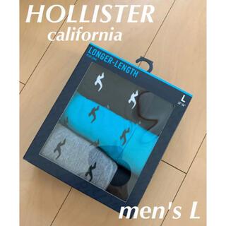 Hollister - 【新品】HOLLISTER ボクサーパンツ L 3枚SET
