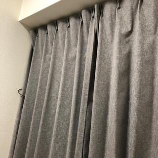ニトリ(ニトリ)の《ニトリ》遮光2級カーテン(レーナ グレー 100X178)(カーテン)