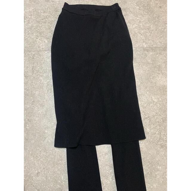 FRAMeWORK(フレームワーク)のフレームワーク FRAMeWORK レギンス付きスカート レディースのスカート(ひざ丈スカート)の商品写真