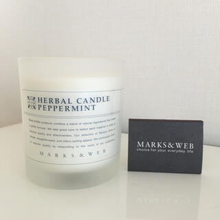 MARKS&WEB - MARKS&WEB  HERBAL CANDLE  PEPPERMINT