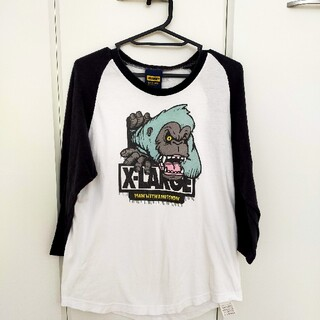 XLARGE × MAN  WITH A  MISSION ラグラン