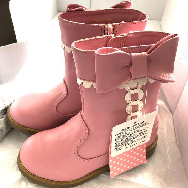 Shirley Temple(シャーリーテンプル)のさくら🌸様 専用 シャーリーテンプル ブーツ16.0 キッズ/ベビー/マタニティのキッズ靴/シューズ(15cm~)(ブーツ)の商品写真