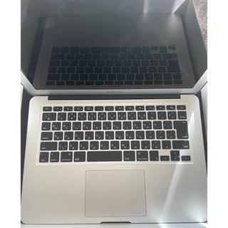 マック(Mac (Apple))のMacBookAir(13インチ/256GB/充電回数13回のみ)(ノートPC)