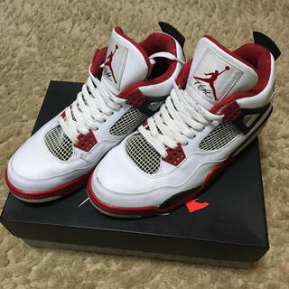 NIKE - AIR JORDAN 4 RETRO FIRE RED エアジョーダン4