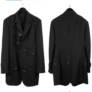 Yohji Yamamoto - 【未使用】20-21SS ヨウジオム デザインジャケット yohji  Y-3