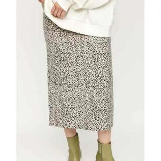 SLY - SLY 今季完売 新品 JENA LEOPARD ミディアムスカート
