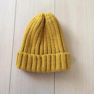 ジーユー(GU)のGU子供用ニットキャップ(帽子)