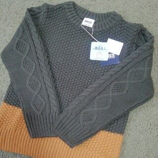 BREEZE - 【新品未使用】BREEZE セーター ニット 120