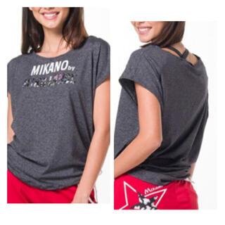 ♪美品 ミカノ ミカランセ シャーリングTシャツ♪