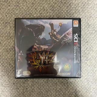 カプコン(CAPCOM)のモンスターハンター4 3DS(携帯用ゲームソフト)