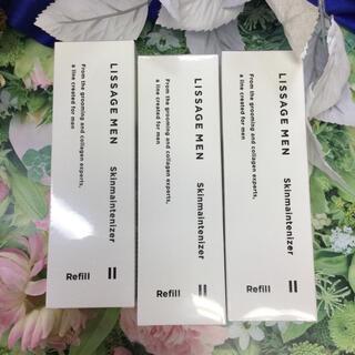 リサージ(LISSAGE)のリサージ メンスキンメンテナイザー2 コクのあるしっとりタイプ(詰め替え) 3箱(化粧水/ローション)