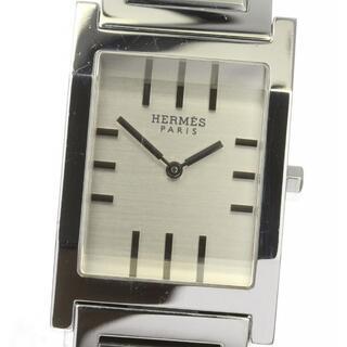 Hermes - ☆良品 エルメス タンデム  TA1.710 クォーツ メンズ 【中古】