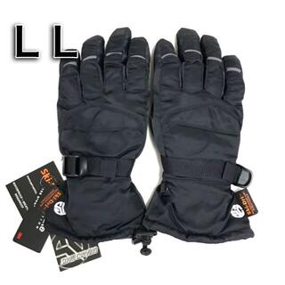 新品☆未使用 匿名発送!シンサレート 黒色 防寒 手袋 兼用LLサイズ ブラック(ウエア/装備)