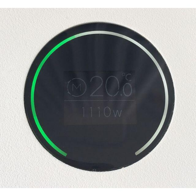 BALMUDA(バルミューダ)のバルミューダ ESH-1100UA-SW スマートヒーター2 スマホ/家電/カメラの冷暖房/空調(電気ヒーター)の商品写真