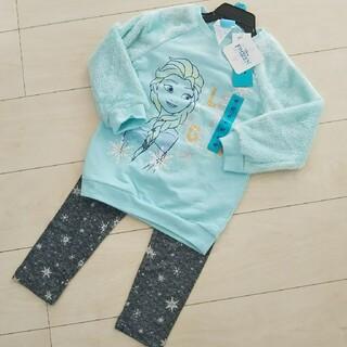 ディズニー(Disney)の新品 アナと雪の女王 上下セット(Tシャツ/カットソー)