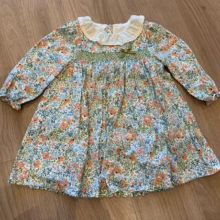 Bonpoint - dave&bella★ベビー服★花柄ワンピース80cm