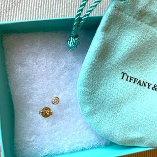 Tiffany & Co. - 【値下げ】美品 ティファニー 1P バイザヤード ピアス ダイヤK18 片耳