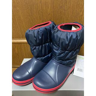 クロックス(crocs)のcrocs ウィンターパフブーツ(ブーツ)