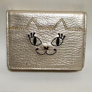 ANNA SUI - ANNA SUI財布 マイティティ 猫 三つ折り財布