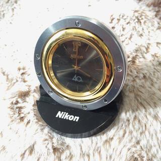 Nikon - NIKON 40周年記念置き時計 限定版