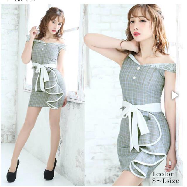 dazzy store(デイジーストア)のdazzy store オフショル ドレス レディースのフォーマル/ドレス(ナイトドレス)の商品写真