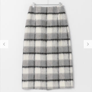 DOORS / URBAN RESEARCH - シャギーチェックタイトスカート