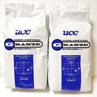 ユーシーシー(UCC)のucc グランゼ ストロング コーヒー豆 500g 2袋(コーヒー)