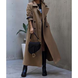 アメリヴィンテージ(Ameri VINTAGE)のACLENT Standcollar wool long coat(ロングコート)