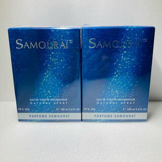 アランドロン(Alain Delon)のサムライ オードトワレ 100mL香水 フレグランス EDT 新品 2個(香水(男性用))