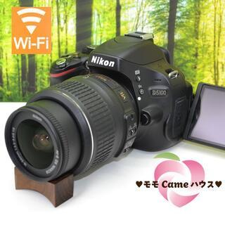 Nikon - 【やや難あり】ニコン D5100☆WiFiSDでスマホに簡単転送☆1337