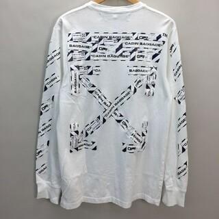 オフホワイト(OFF-WHITE)のオフ-ホワイト ロンT(予約(Tシャツ(長袖/七分))