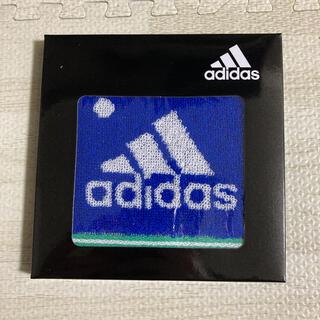 アディダス(adidas)の10.新品 adidas アディダス ミニタオル 25㎝×25㎝(タオル/バス用品)