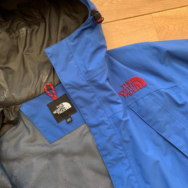 THE NORTH FACE(ザノースフェイス)のノースフェイス レインウェア キッズ120 キッズ/ベビー/マタニティのキッズ服男の子用(90cm~)(ジャケット/上着)の商品写真