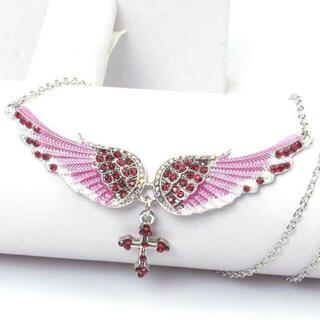 jouetie - ˙˚ʚ✞ɞ˚˙ cross wing necklace ˙˚ʚ✞ɞ˚˙