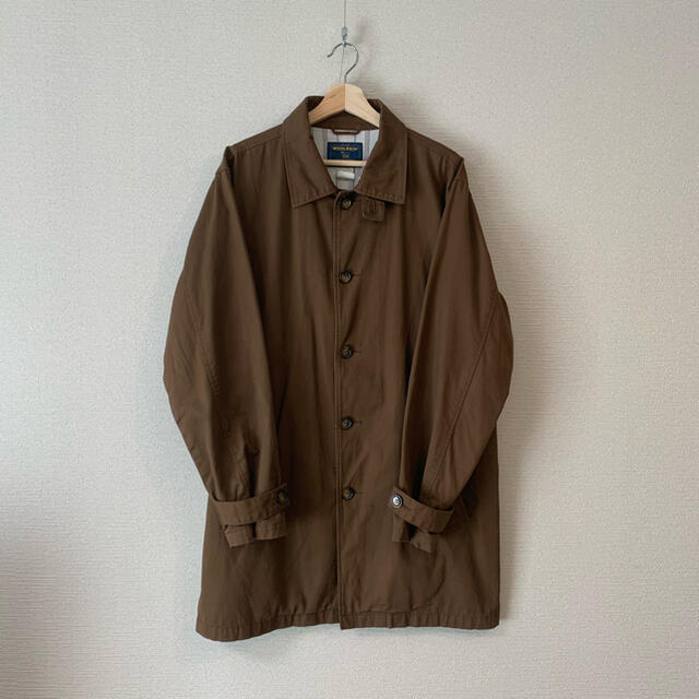 COMOLI(コモリ)のWOOLRICH コットンステンカラーコート cristaseya yo asa メンズのジャケット/アウター(ステンカラーコート)の商品写真