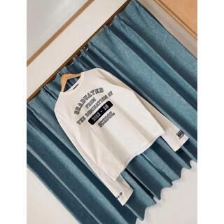 DAIRIKU 16aw 卒業コレクション カレッジ ロングスリーブ tシャツ