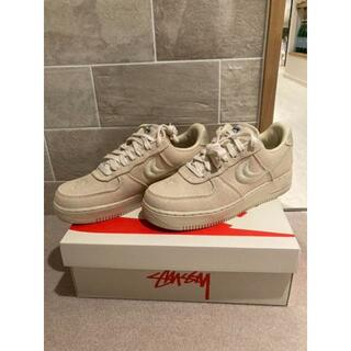 STUSSY / NIKE AIR FORCE 1 LOW FOSSIL 29㎝(スニーカー)