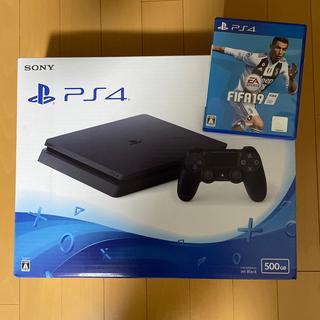 PlayStation4 - PlayStation4(CUH-2200AB01) 【おまけ:FIFA19付】