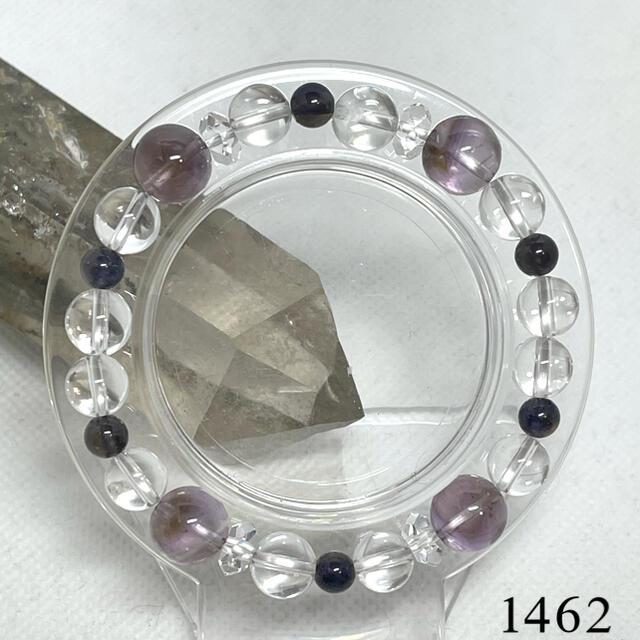 パワーストーン⭐️アメトリン⭐️アイオライト ブレスレット 内径約15cm ハンドメイドのアクセサリー(ブレスレット/バングル)の商品写真