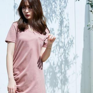 herlipto♡Relaxed T-Shirt Long Dress
