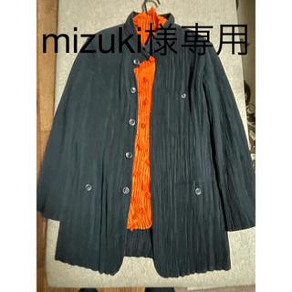 イッセイミヤケ(ISSEY MIYAKE)のISSEY MIYAKE プリーツジャケット 黒(ジャケットのみ)(テーラードジャケット)