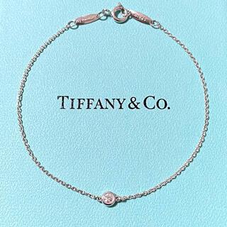 Tiffany & Co. - ティファニー ダイヤモンド バイザヤード ブレスレット  スターリングシルバー
