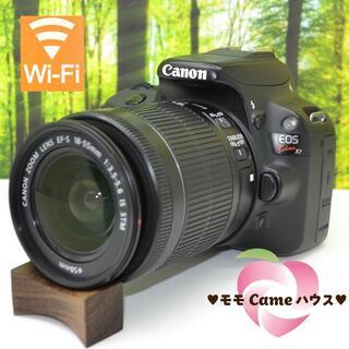 Canon - キヤノン Kiss X7♪スマホに転送♪タッチパネル操作☆1388