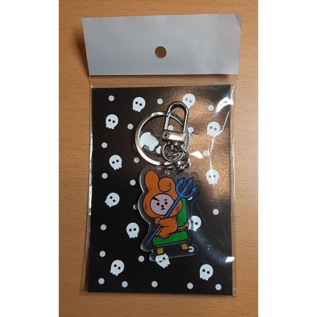 BTS 防弾少年団BT21のハロウィンバージョンのキーホルダー♪「cooky」 エンタメ/ホビーのタレントグッズ(アイドルグッズ)の商品写真