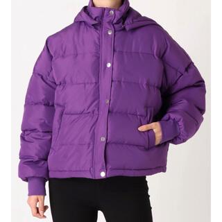 ジュエティ(jouetie)のjouetieの可愛い紫のジャケット(ダウンジャケット)