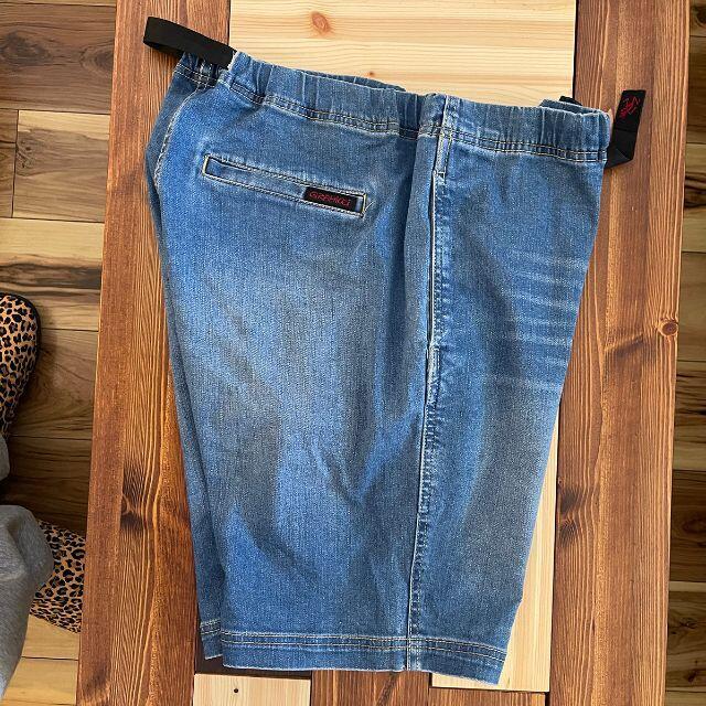 GRAMICCI(グラミチ)のGRAMICCI デニムショートパンツ Lサイズ メンズのパンツ(ショートパンツ)の商品写真