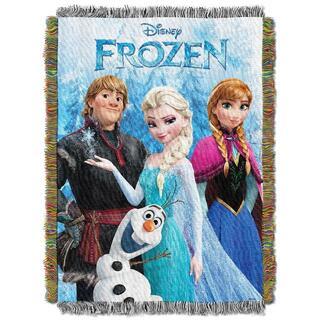 ディズニー(Disney)のアナと雪の女王 タペストリーブランケット ディズニー正規品 -FROZEN-(毛布)